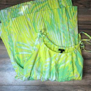 Lane Bryant sz 18/20 adjustable strap sun dress